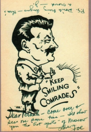 Stalin on Stamps